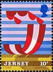 Postage Stamps Stamp Jersey 1975 Tourism SG and Scott 126 Fine Mint