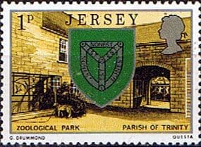 Jersey 1976 Parish Arms and Views SG 138 Fine Mint