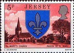 Jersey 1976 Parish Arms and Views SG 139 Fine Mint