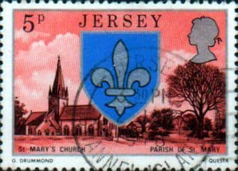 Jersey 1976 Parish Arms and Views SG 139 Fine Used
