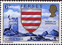Jersey 1976 Parish Arms and Views SG 140 Fine Mint