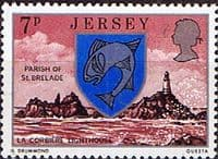 Jersey 1976 Parish Arms and Views SG 141 Fine Mint