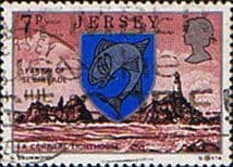 Jersey 1976 Parish Arms and Views SG 141 Fine Used