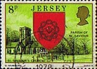 Jersey 1976 Parish Arms and Views SG 142 Fine Used