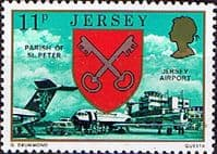 Jersey 1976 Parish Arms and Views SG 145 Fine Mint