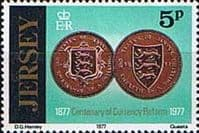 Jersey 1977 Currency Reform SG 171 Fine Mint