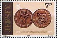 Jersey 1977 Currency Reform SG 172 Fine Mint