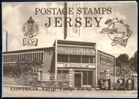 Jersey 1979 Booklet SG SB 29 Fine Mint