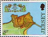 Jersey 1980 Fortresses SG 222 Fine Mint