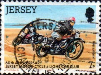 Jersey 1980 Motor-cycle and Light Car Club SG 233 Fine Used