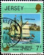 Jersey 1980 Operation Drake SG 238 Fine Used