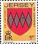Postage Stamps Jersey 1981 Arms of Jersey Families SG 250 Fine Mint SG 250 Scott 247