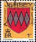 Jersey 1981 Arms of Jersey Families SG 250 Fine Used