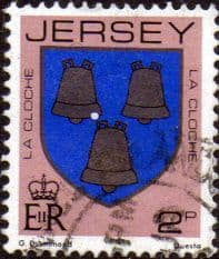 Postage Stamps Jersey 1981 Arms of Jersey Families SG 252 Fine Mint Scott 249