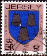Jersey 1981 Arms of Jersey Families SG 251 Fine Used