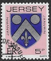 Postage Stamps Jersey 1981 Arms of Jersey Families SG 254 Fine Mint Scott 251