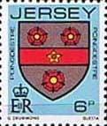 Jersey 1981 Arms of Jersey Families SG 255 Fine Mint