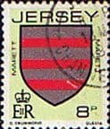 Jersey 1981 Arms of Jersey Families SG 257 Fine Used