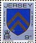 Postage Stamps Jersey 1981 Arms of Jersey Families SG 258 Fine Mint Scott 255