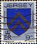 Jersey 1981 Arms of Jersey Families SG 258 Fine Used