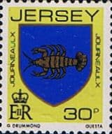 Jersey 1981 Arms of Jersey Families SG 269 Fine Mint