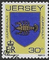 Post Postage Stamps Jersey 1981 Arms of Jersey Families SG 269 Fine Mint Scott 264