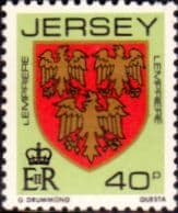 Postage Stamps Post Jersey 1981 Arms of Jersey Families SG 267 Fine Mint Scott 264