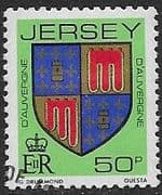 Jersey 1981 Arms of Jersey Families SG 271 Fine Used