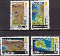Jersey 1982 Europa Historic Events Set Fine Used