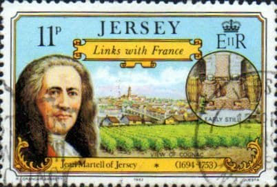 Jersey 1982 Links with France SG 295 Fine Used