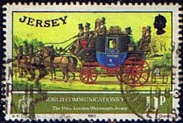 Jersey 1983 World Communications Year SG 315 Fine Used