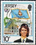 Jersey 1985 International Youth Year SG 360 Fine Used