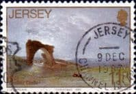 Jersey 1987 Christmas. Paintings SG 428 Fine Used