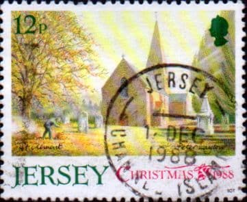 Jersey 1988 Christmas Jersey Parish Churches SG 458 Fine Used