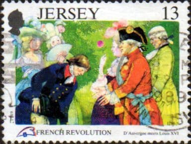 Jersey 1989 Bicentenary of the French Revolution SG 501 Fine Used