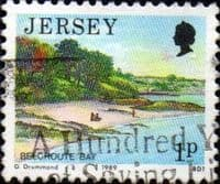 Jersey 1989 Scenes SG 468 Fine Used
