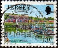 Jersey 1989 Scenes SG 473 Fine Used