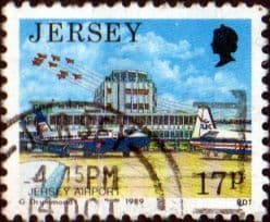 Jersey 1989 Scenes SG 477 Fine Used