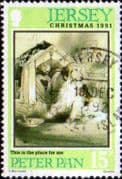 Jersey 1991 Christmas Peter Pan SG 564 Fine Used