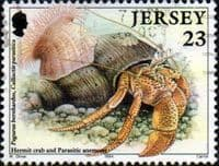 Jersey 1994 Marine Life SG 671 Fine Used