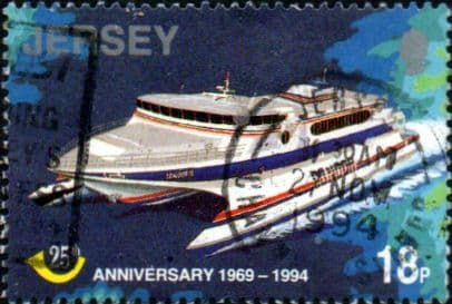 Jersey 1994 Postal Administration SG 674 Fine Used