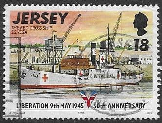 Jersey 1995 50th Anniversary of Liberation SG 701 Fine Used