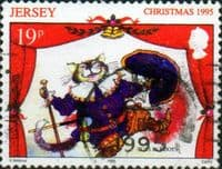 Jersey 1995 Christmas Pantomimes SG 727 Fine Used