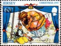 Jersey 1995 Christmas Pantomimes SG 730 Fine Used