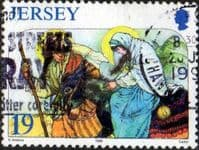 Jersey 1996 Christmas SG 764 Fine Used