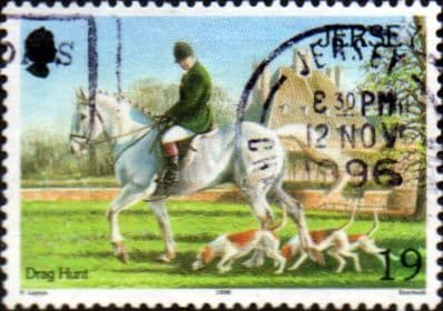 Jersey 1996 Horses SG 758 Fine Used