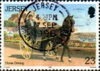 Jersey 1996 Horses SG 759 Fine Used