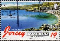 Jersey 1996 Tourism Beaches SG 752 Fine Used