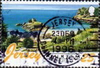Jersey 1996 Tourism Beaches SG 753 Fine Used