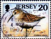 Jersey 1997 Birds SG 780a Fine Used